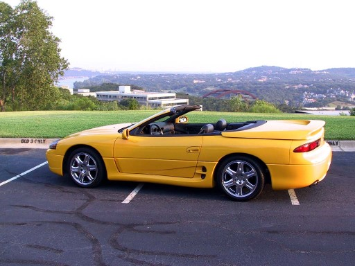 Custom Yellow 3000GT Spyder with
